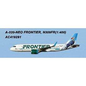AeroClassics A320neo Frontier Woodpecker Livery N309FR 1:400