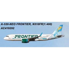 AeroClassics A320neo Frontier Collared Lizard Livery N310FR 1:400