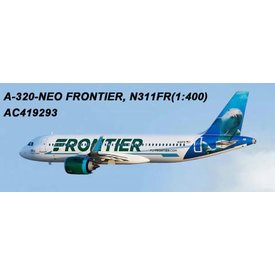 AeroClassics A320neo Frontier Dolphin Livery N311FR 1:400