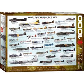 Puzzle World War II Aircraft 1000 pieces