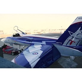 Hobby Master CF188 RCAF 2018 Demo Team NORAD 60th 188776 1:72 with stand