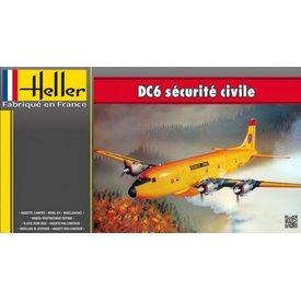 HELLE DC6 Securite Civil 1:72
