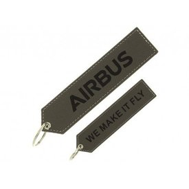 "Airbus Executive Airbus ""remove before flight"" key ring"