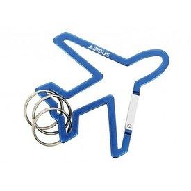 Airbus Aircraft shape carabiner