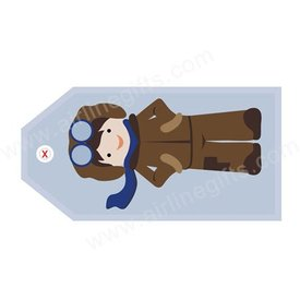LUGGAGE TAG AVIATOR BOY
