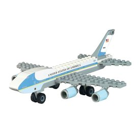 Daron WWT CONSTRUCT AIR FORCE 1 B-747 (55 PIECE)
