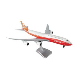 Hogan B747-8i Boeing House Red / Orange livery 1:200 With Gear + Stand