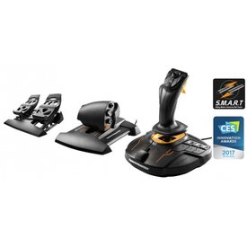 Thrustmaster T16000M FCS Flight Pack Joystick, Throttle, Rudder Pedals for PC (Windows Vista, 7, 8, 10)(English Only)