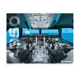 Airbus AIRBUS POSTER A350 COCKPIT