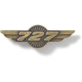 Boeing Store PIN B727 WINGS BRONZE