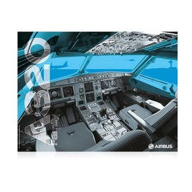 AIRBUS POSTER A320 COCKPIT