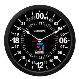 """Trintec Industries Cessna 10"""" ZULUTIME Wall Clock"""