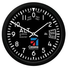"Trintec Industries Cessna 10"" Altimeter Round Clock (NEW)"