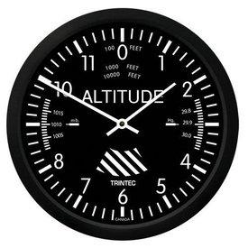 "Trintec Industries Classic 10"" Altimeter Clock"