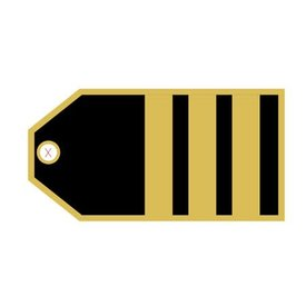 Luggage Tag First Officer
