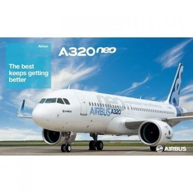 AIRBUS POSTER A320NEO PROFILE