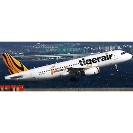 JC Wings A320 Tigerair Taiwan B-50003 1:200 with stand