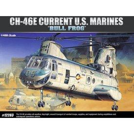 Academy ACADEMY CH46E BULL FROG Current USMC 1:48 Scale Kit