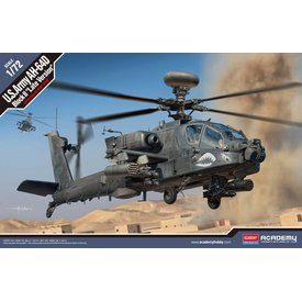 ACADEMY AH64D Block II Late Version 1:72 Scale Plastic Kit