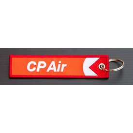 avworld.ca Key Chain CP Air Embroidered