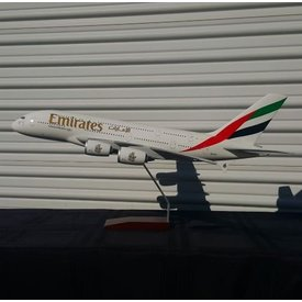 Gemini Jets A380-800 Emirates New Expo 2020 A6-EUC 1:100 scale with stand