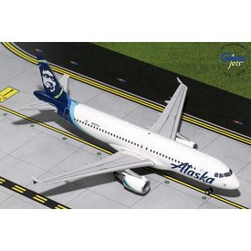 Gemini Jets A320 Alaska Airlines New Livery 2015 N625VA 1:200 with stand