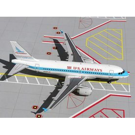Gemini Jets A319 US Airways Piedmont Retro Livery 1:200 with stand