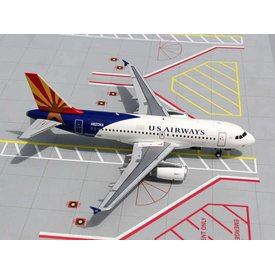 Gemini Jets A319 US Airways Arizona One livery 1:200 with stand