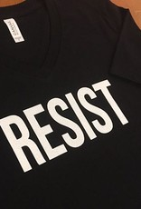 Moxy Brand RESIST V-Neck T-shirt in  Black