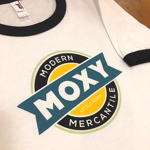Moxy Brand MOXY Logo Ringer T-Shirt