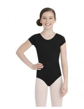Capezio Girl's Short Sleeve Leotard