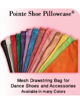 Pointe Shoe Pillowcase by Pillows For Pointes™