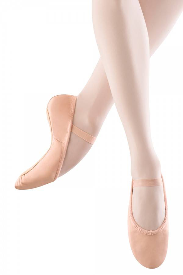 Girl Full Sole Leather Ballet Shoe