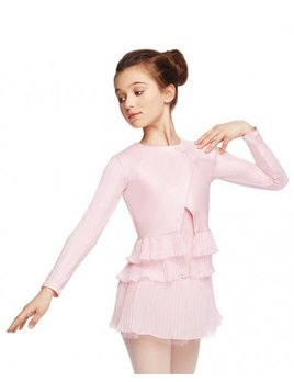 Capezio Overlapping Pleated Jacket