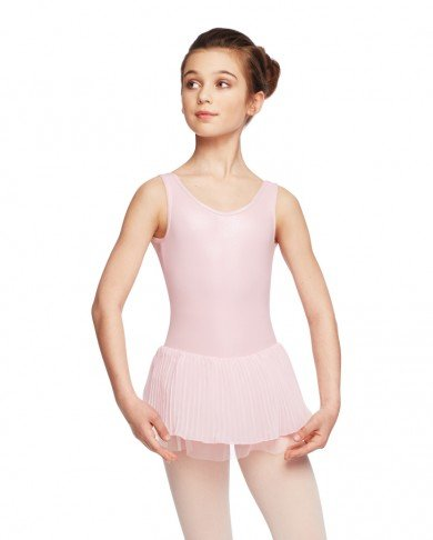 Capezio Pleated Tank Dress