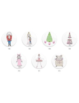 "Nutcracker 3"" Pocket Mirror"