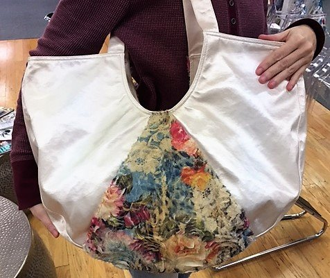 Wear Moi Floral Tulle Tote