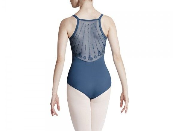Bloch Mesh Back Cami Leotard for Girls