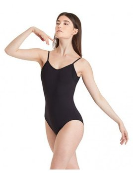 Capezio Camisole Leotard with Sheer Inserts for Women