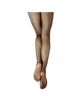 Capezio Studio Seamed Fishnet Tights for Women