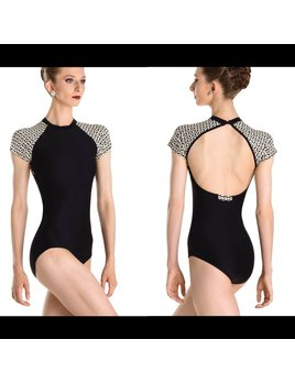 Mock Turtleneck Leotard by Wear Moi