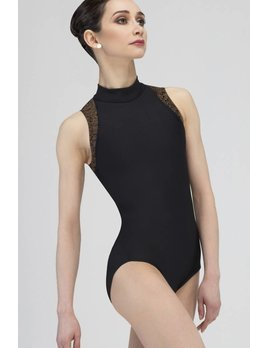 Wear Moi Mock Turtle Neck Leotard LC154