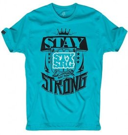 Stay Strong Stay Strong Wallace T-Shirt in Tiffany Green XLarge