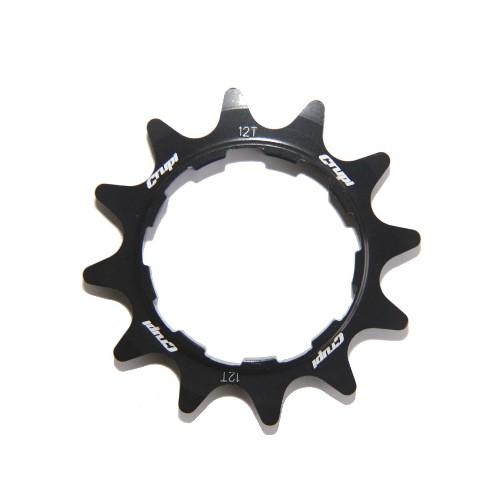 Crupi Crupi Aluminum Cog  Black