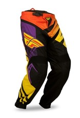 Fly Racing Fly F-16 Pant Purple/Yellow/Black