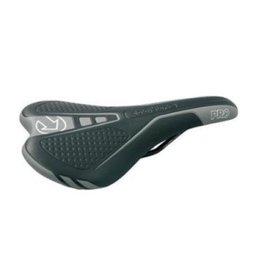 Shimano Shimano Saddle Post Vulture Black/Grey Syn Leather