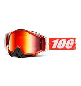100% 100% Racecraft Goggle Fire Red