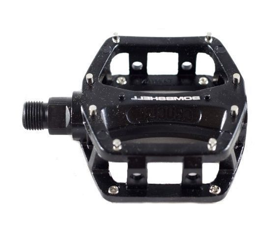 "Bombshell Bombshell Platform Mini Pedals 9/16"" Black"