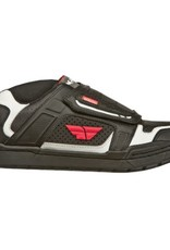 Fly Racing Fly Transfer Shoe Black/White/Red 7