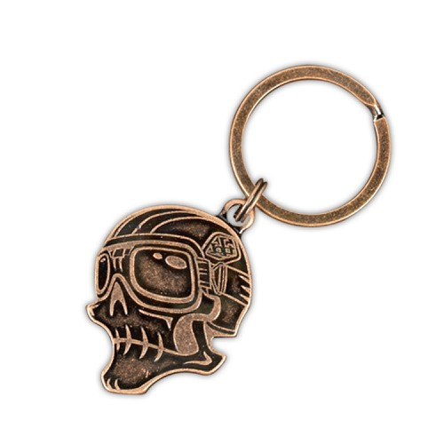 Troy Lee Designs Troy Lee Designs Skully Keychain Antique Cop